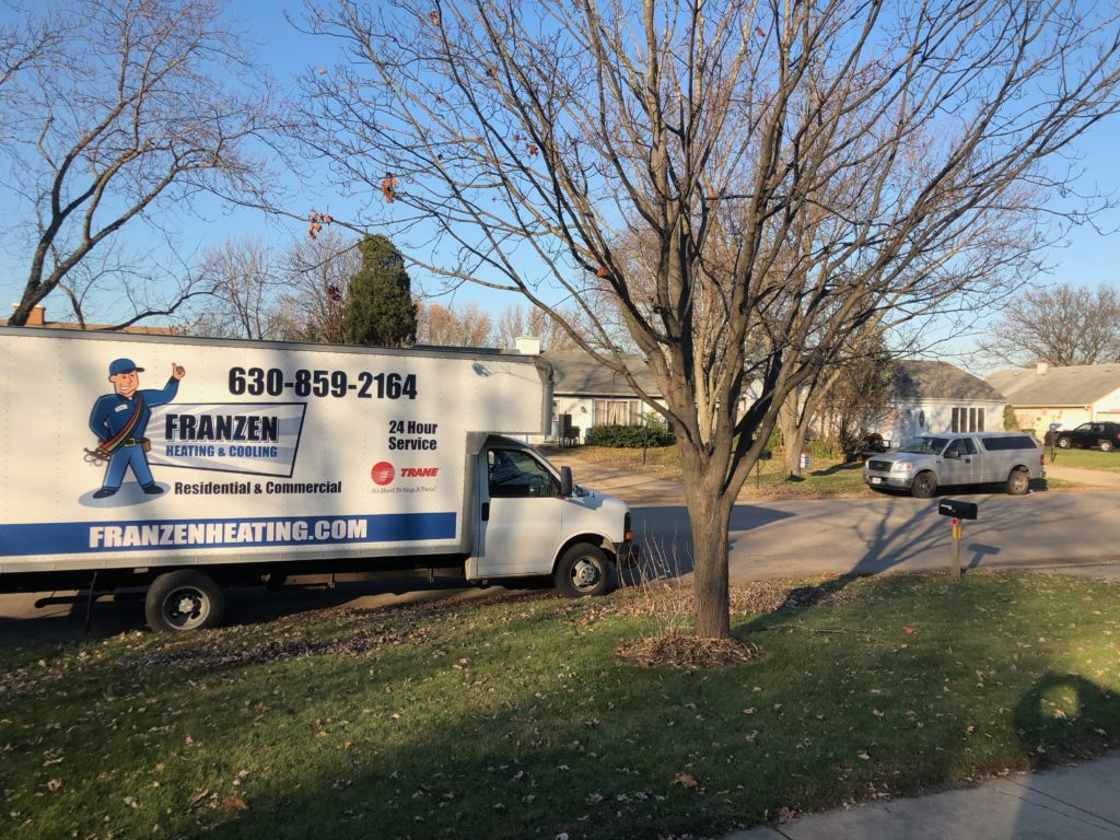 Franzen Heating and Cooling in Villa Park Illinois