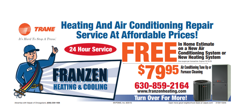Use this coupon to get a free airbear media air cleaner with any furnace installation